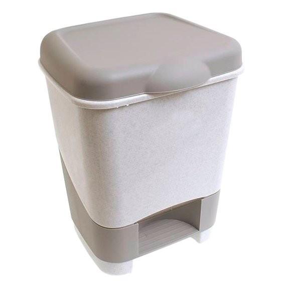 контейнер педальный для мусора 8л