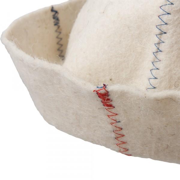шапка банная классика цветной зигзаг hot pot войлок 100% /20 недорого