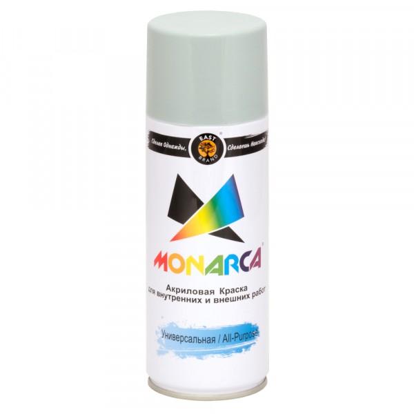 эмаль аэрозоль monarca универсальная сигнальный серый 270г. ral 7004