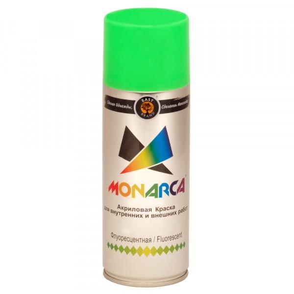 эмаль аэрозоль monarca флуоресцентная зеленый 270г.