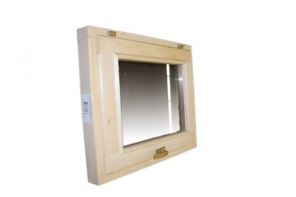 окно в парную 400*400 со стеклопакетом, ручкой, затвором и петлями 03558