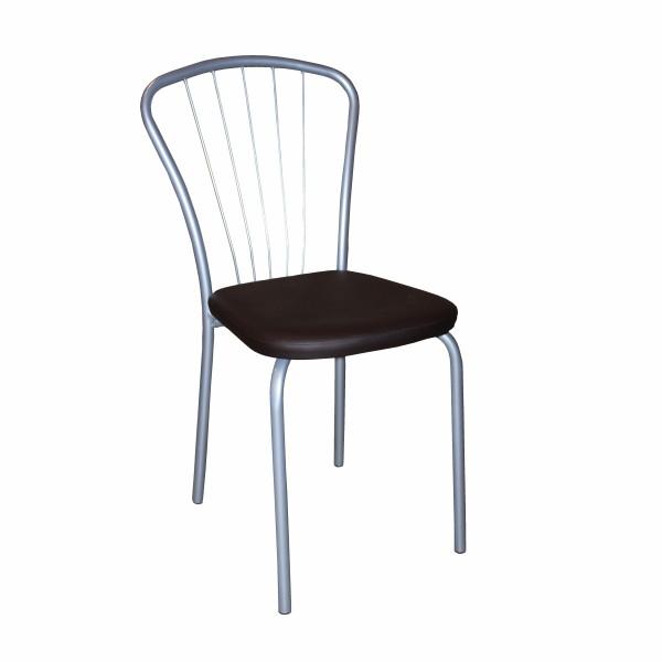 стул лира металлик/аэро коричневый с3.00.11