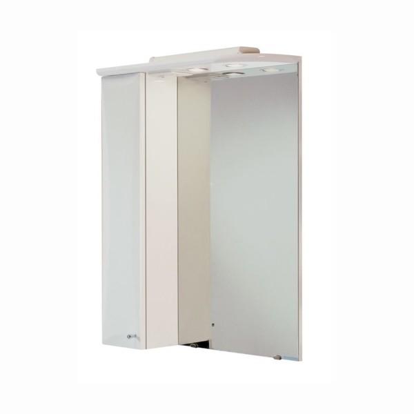 шкаф зеркальный левый акватон джимми 57 1a034002dj01l