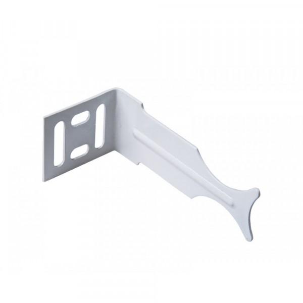 кронштейн для радиатора угловой, белый, универсальный mp-у