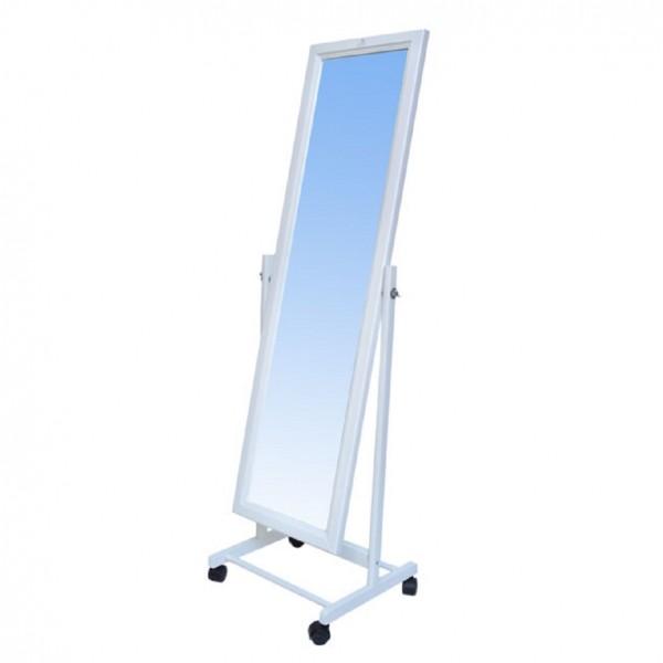 Фото - зеркало напольное leset мэмфис, белый зеркало напольное мебель импэкс leset мэмфис орех