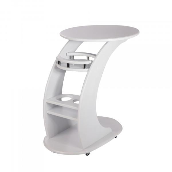 придиванный столик люкс, молочный дуб