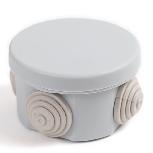 коробка распределительная 40-0105 для открытой установки безгалогенная (hf) атмосферостойкая 65х40мм