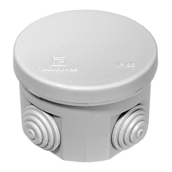 коробка распределительная 40-0115 для открытой установки безгалогенная (hf) атмосферостойкая 70х50мм