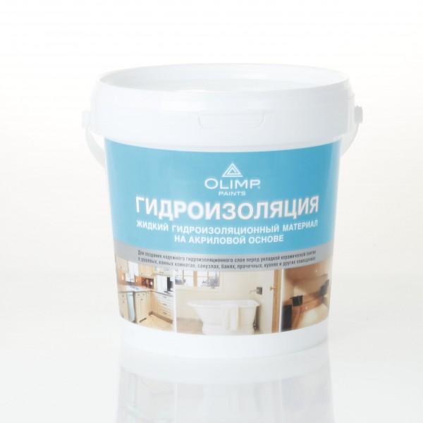 жидкая гидроизоляция olimp, 1 кг
