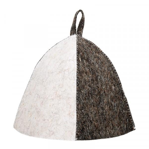шапка банная нot pot комби войлок 100% 41007 недорого