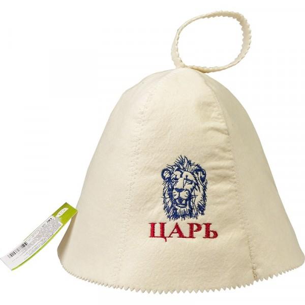 шапка банная банные штучки царь войлок 100% 41032 недорого