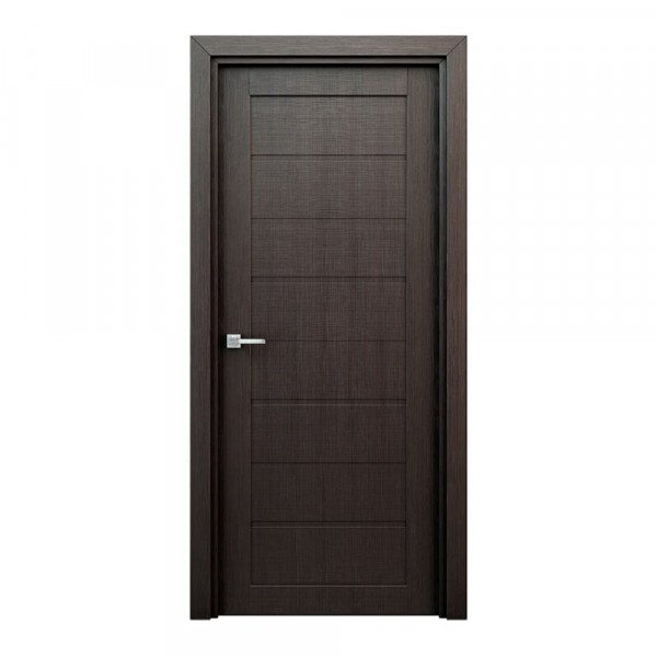 Фото - полотно дверное глухое орион,3d финиш-пленка 2000х800мм,венге коробочный брус плоский 3d финиш пленка 2070х70х26мм серый
