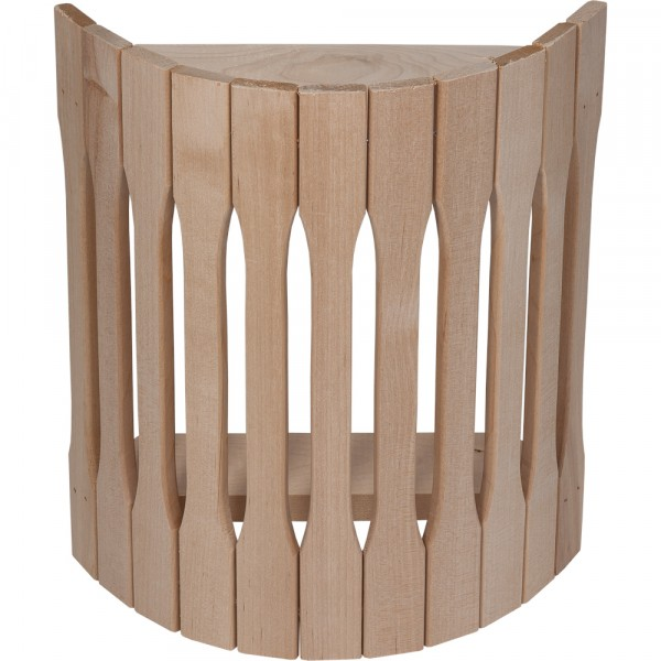 Фото - абажур для светильника, угловой, липа, 31*10*27 см банные штучки абажур bogacho 27 30 квадро