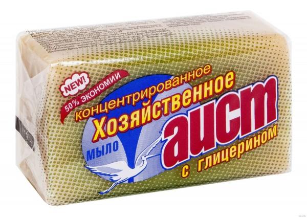 мыло хозяйственное 70% 150г с глицерином /аист/ 669 недорого