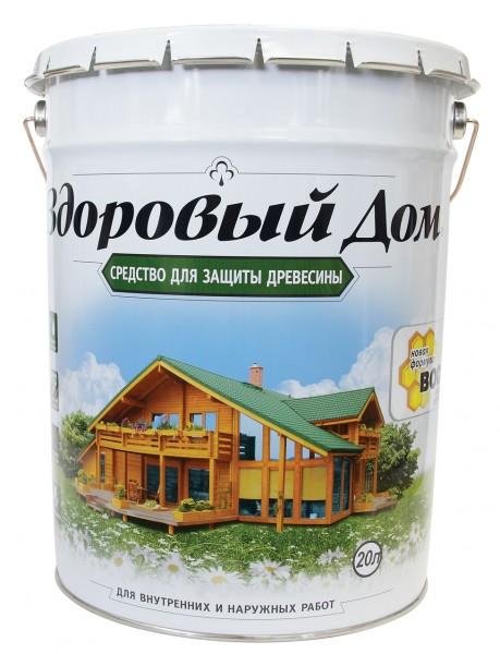 деревозащитное средство здоровый дом 20,0л дуб
