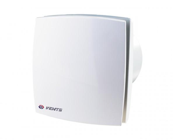 вентилятор вытяжной осевой накладной 125мм вентс 125лд белый, с декор.панелью, vents