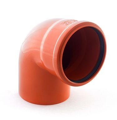отвод наружной канализации 160/87°