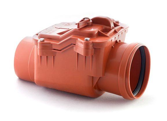клапан обратный канализационный d 110