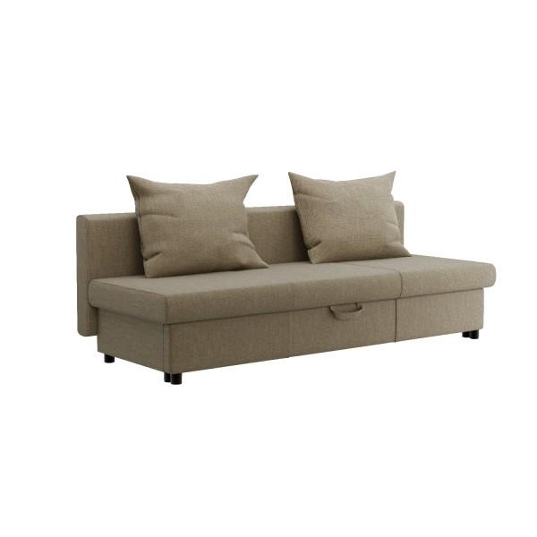 диван-кровать ривьера 2000х800х630 beige