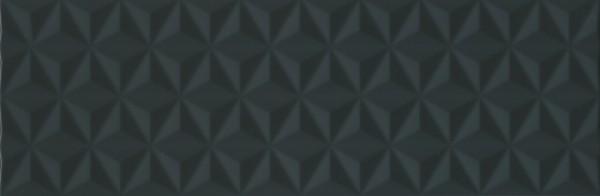 керамическая плитка 25х75 диагональ черный структура обрезной