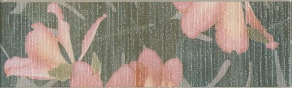 керамический бордюр 25х7,7 пальмовый лес
