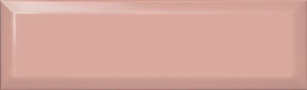керамическая плитка 8,5х28,5 аккорд розовый светлый грань
