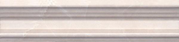 керамический бордюр 20х5 багет баккара беж темный