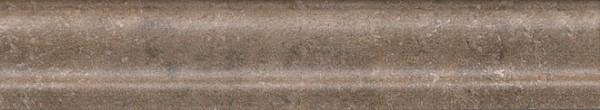 керамический бордюр 15х3 багет виченца коричневый