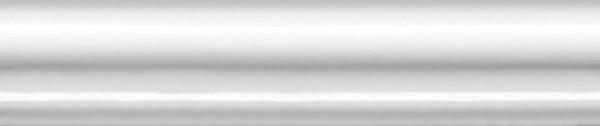 керамический бордюр 15х3 багет авеллино белый 1