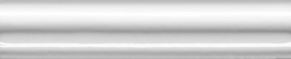 керамический бордюр 15х3 багет граньяно белый