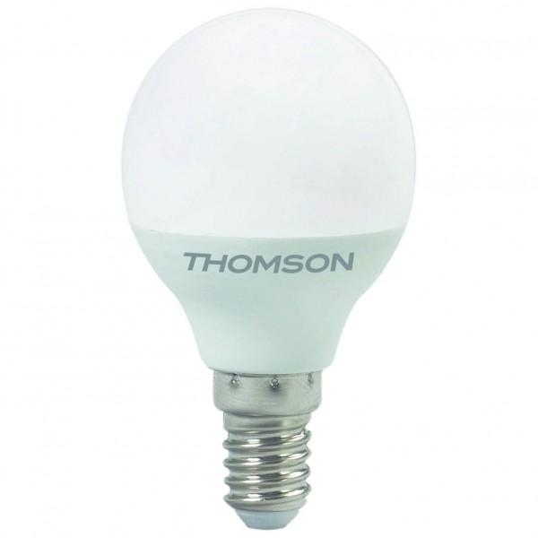 лампа светодиодная thomson th-b2036 led globe 10w 830lm e14 4000k