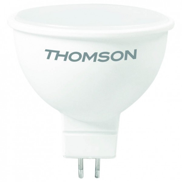 лампа светодиодная thomson th-b2048 led mr16 8w 670lm gu5.3 4000k