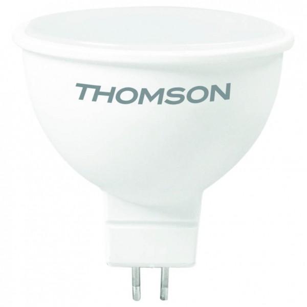 лампа светодиодная thomson th-b2050 led mr16 10w 830lm gu5.3 4000k