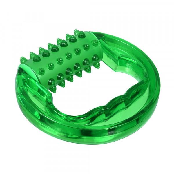 массажёр пластиковый универсальный спорт, 12х10,2х4,5 см банные штучки