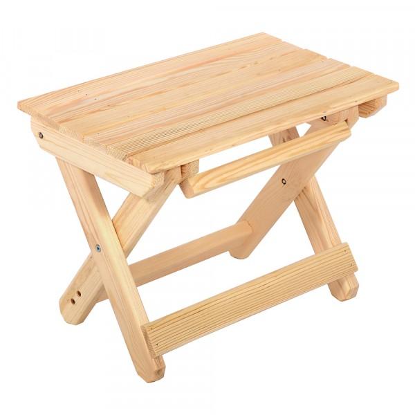 табурет складной скамья, 40*24*30 см, сосна банные штучки