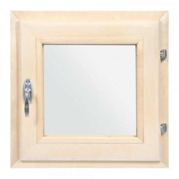 форточка в парную, двойное стекло, 0,4вх0,4ш м с ручкой, затвором, петлями банные штучки