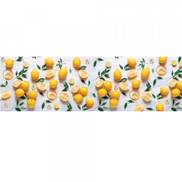 кухонная панель пвх 600х2000 лимоны