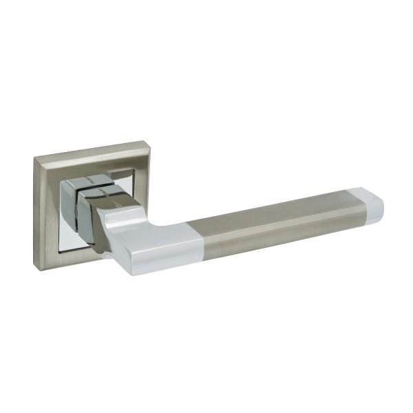 ручки дверные palladium city carrino,цвет матовый никель