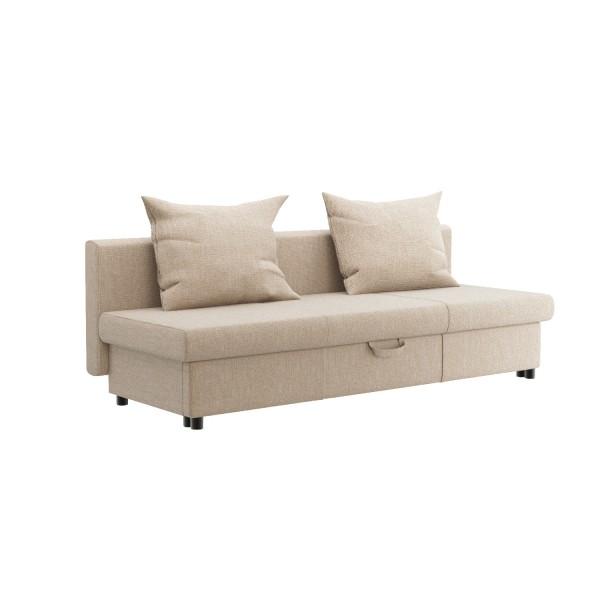 диван-кровать ривьера 2000х800х630 cream