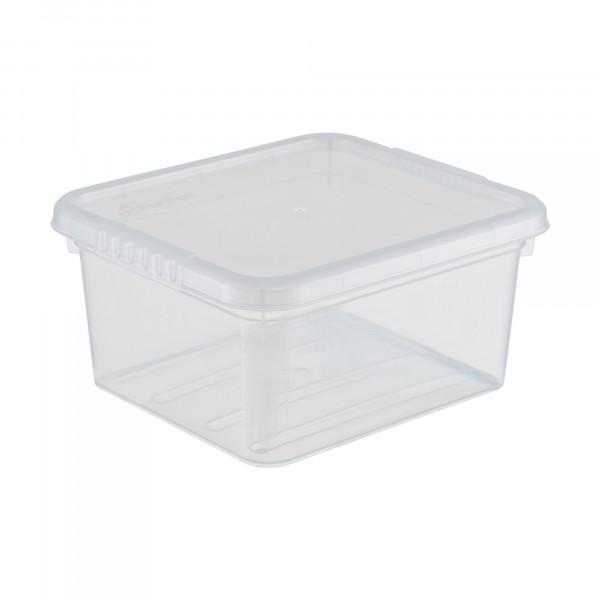 ящик для хранения 2л basic funbox с крышкой fb1011