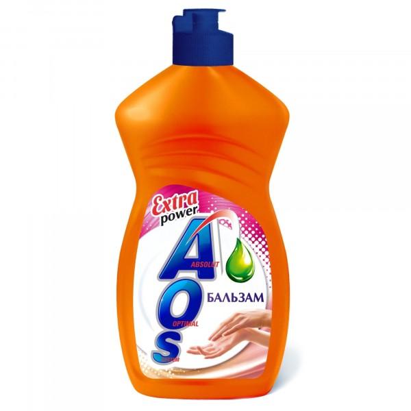 Фото - средство для мытья посуды 450мл аоs нэфис бальзам 1110 средство для мытья посуды ecosoda 1л бальзам быстросмываемый