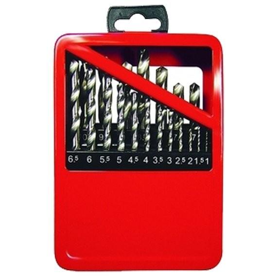 набор сверл по металлу 19шт 1-10мм hss в мет. коробке matrix 72388