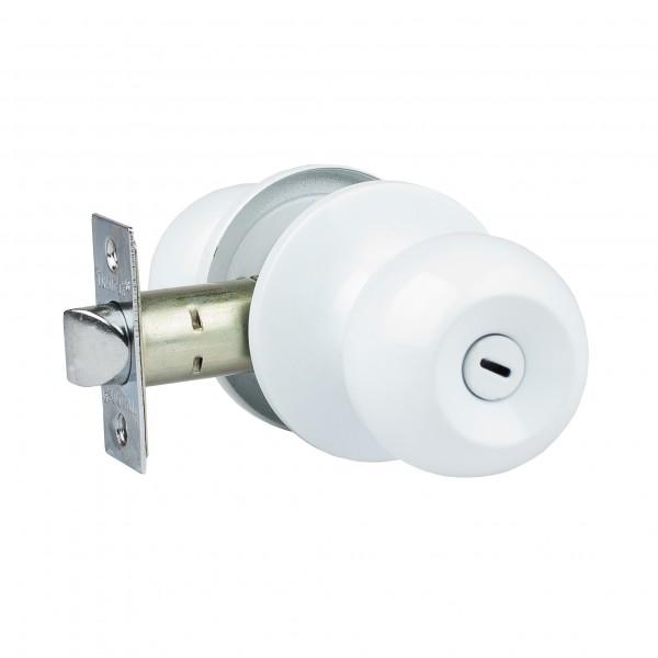 ручка дверная с защелкой trodos зш-03 с фиксатором, цвет белый защелка дверная nora m зш 01 старая медь new