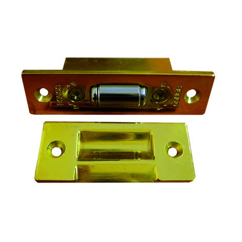 Фото - защелка межкомнатная роликовая trodos, цвет золото защелка роликовая бронза 3132br