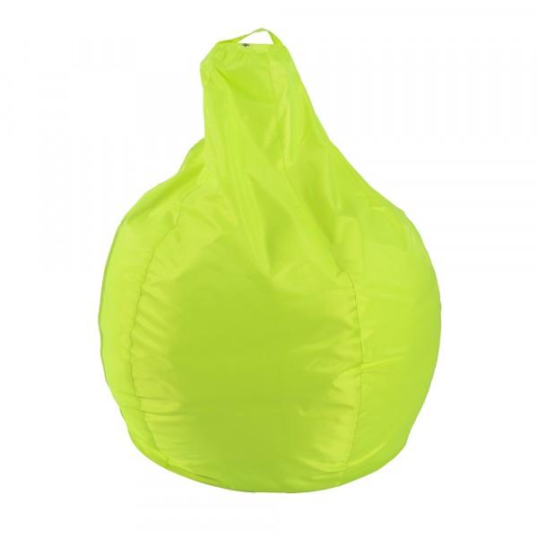 пуф мешок груша xl, лимон