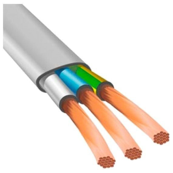 провод электрический пугнп 3х2,5 (20м)