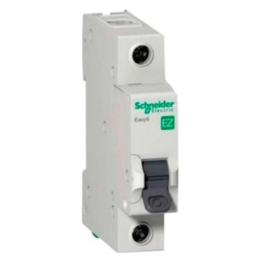 выключатель автомат. 1p 40a (c) schneider electric easy 9, se ez9f34140