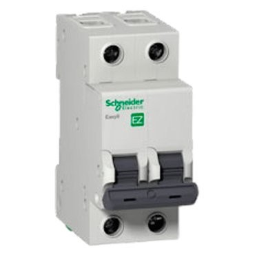 выключатель автомат. 2p 10a (c) schneider electric easy 9, se ez9f34210