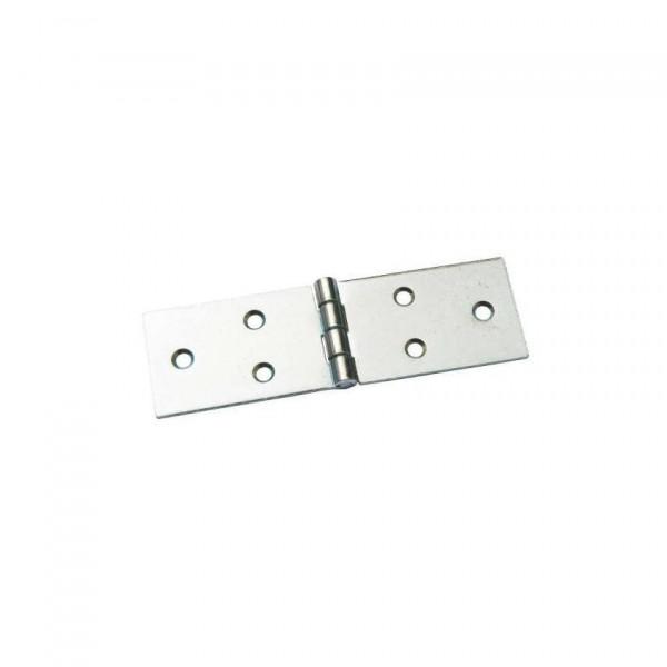петля карточная 128х40 (комплект-2 шт.) петли мебельные металлист карточные пн128