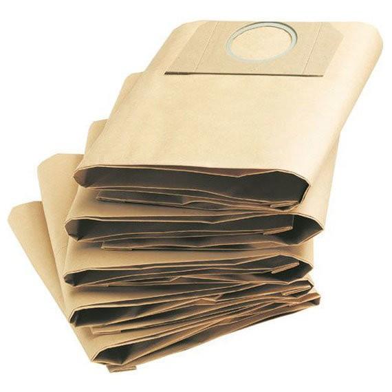фильтр-мешок для пылесосов (5шт) а 2204, 2254, wd 3.200, wd 3.300- wd 3.500 karcher 6.959-130